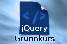 jQuery Grunnkurs